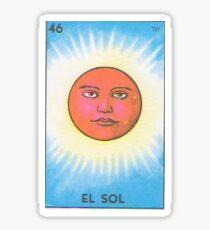 Loteria: El Sol Sticker