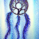 Dream Catcher Blue by Linda Callaghan