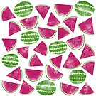 Watermelons by Nic Squirrell