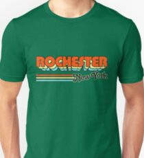 Rochester, NY | City Stripes Unisex T-Shirt