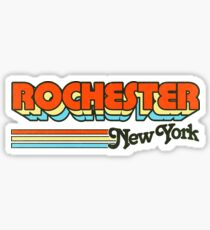 Rochester, NY | City Stripes Sticker