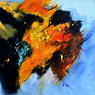 Abstract buffalo by calimero