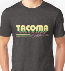 Tacoma, WA | City Stripes T-Shirt