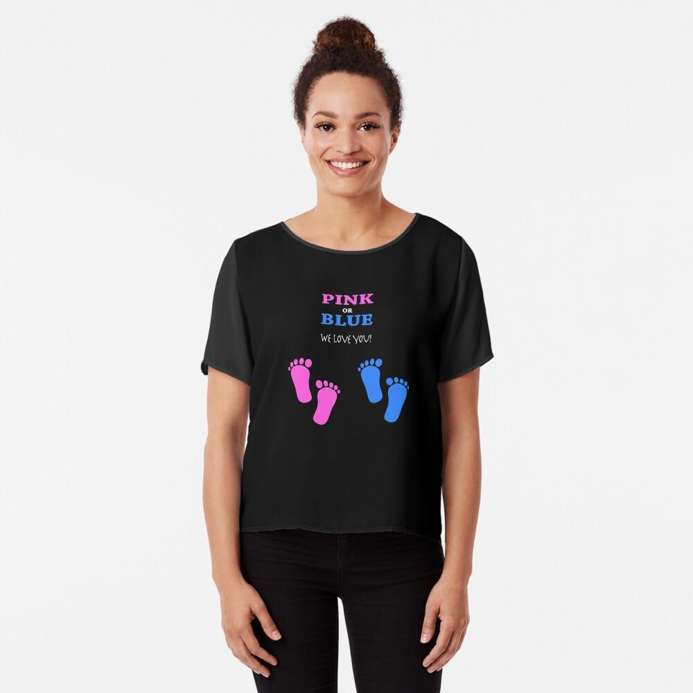 Pregnancy announcement T Shirt  Chiffon Top