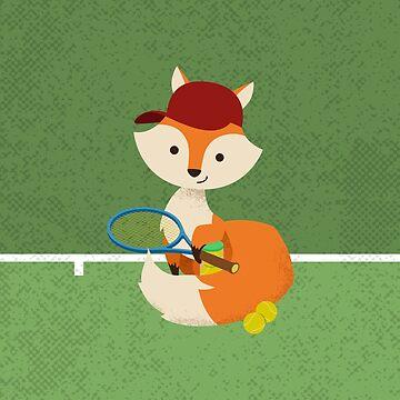 Tennis Fox by Sparafuori
