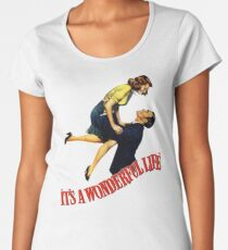 A wonderfull life Women's Premium T-Shirt