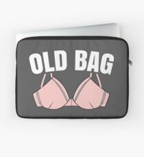Womens Over The hill Grannie Bra Funny Gift For Grandma Laptop Sleeve