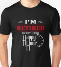 db0707a9 Funny Retirement Gifts For Women/Men. Funny Shirts For Retirement Slim Fit  T-