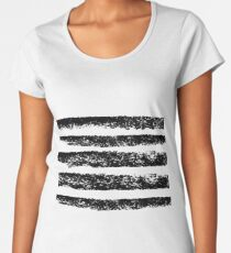 Ink stripes Women's Premium T-Shirt