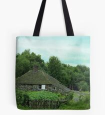 Stone Cottage Tote Bag