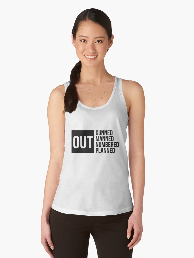 Right Hand Man Women's Tank Top Front