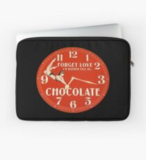 GIVE THE GIFT OF TIME TO THE CHOCOHOLIC IN YOUR LIFE  Laptop Sleeve