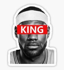 LeBron James - King Sticker