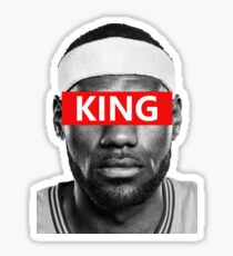 Pegatina LeBron James - Rey