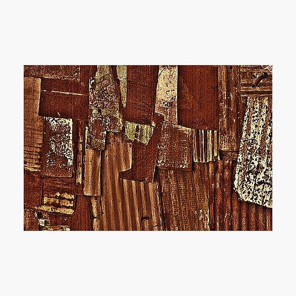 When rust meets Art Photographic Print