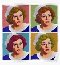 Pop Art Hattie Poster