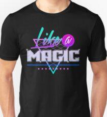 Like a Magic (Black Background) Slim Fit T-Shirt