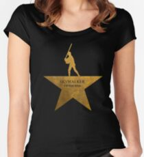 Mark Hamilton - Gold Women's Fitted Scoop T-Shirt