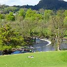 Horseshoe Falls at Llangollen, Wales by trish725