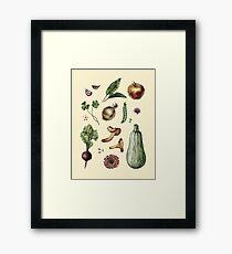 Beautiful food Framed Print