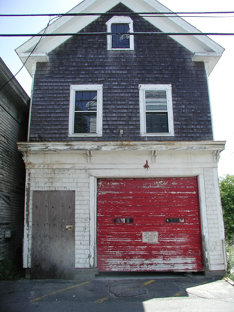 The Old Provincetown Firehouse by Tom  Reynen