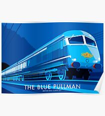 The Blue Pullman Poster