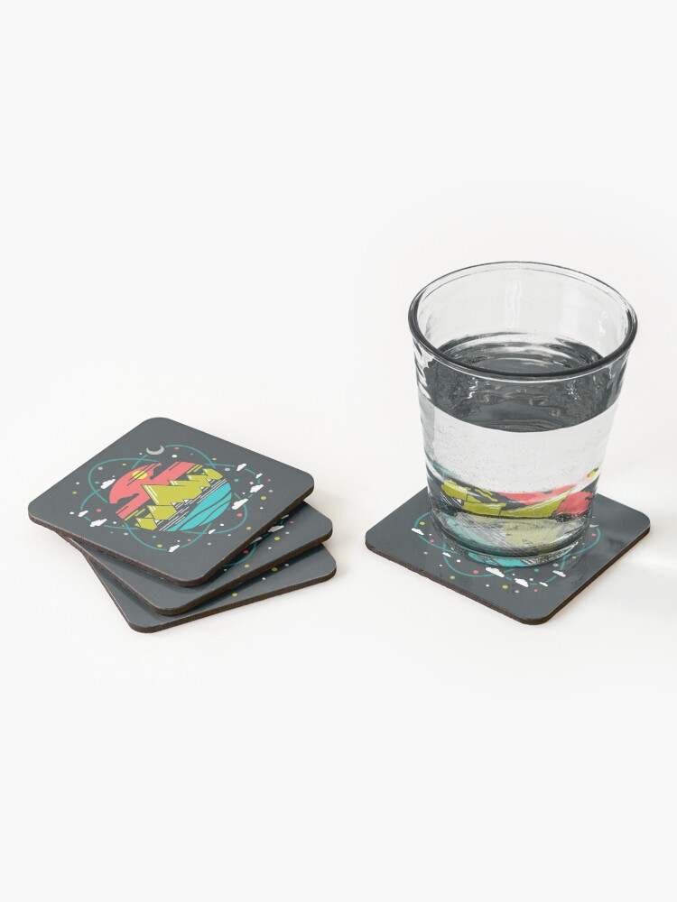 Alternate view of Isotope of Life Coasters (Set of 4)