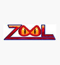 Zool - SNES Title Screen Photographic Print