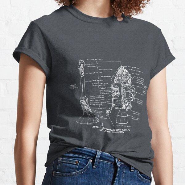 Apollo command module - Spaceship Classic T-Shirt