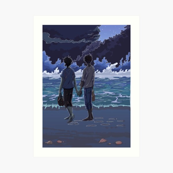Longing for the sea Art Print