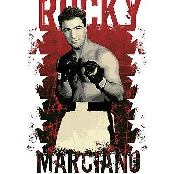 Rocky Marciano (The Brockton Blockbuster) by trueblue2
