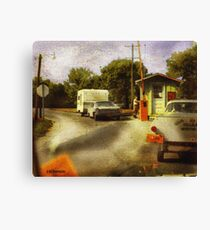 Toll Booth Canvas Print