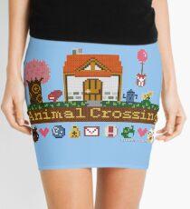 Animal Crossing Pixel house Mini Skirt