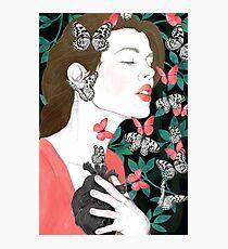 Butterflies // you make my heart flutter Photographic Print