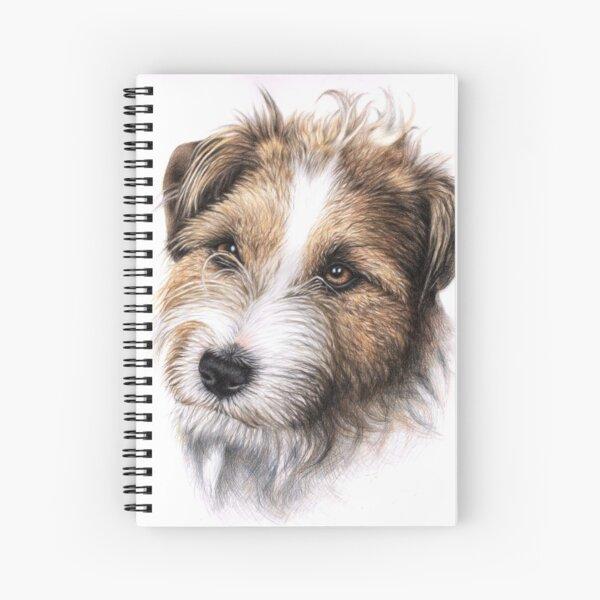 Jack Russell Terrier Portrait Spiral Notebook