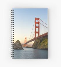 Picturesque SF Spiral Notebook
