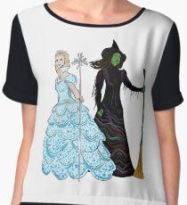 Elphaba and Glinda Women's Chiffon Top