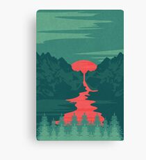 The Red River Canvas Print