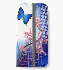 Blue Butterflies iPhone Wallet/Case/Skin
