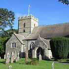 Sunday Morning At St. Petroc's Church by lezvee