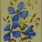 Clematis Watercolour by lezvee