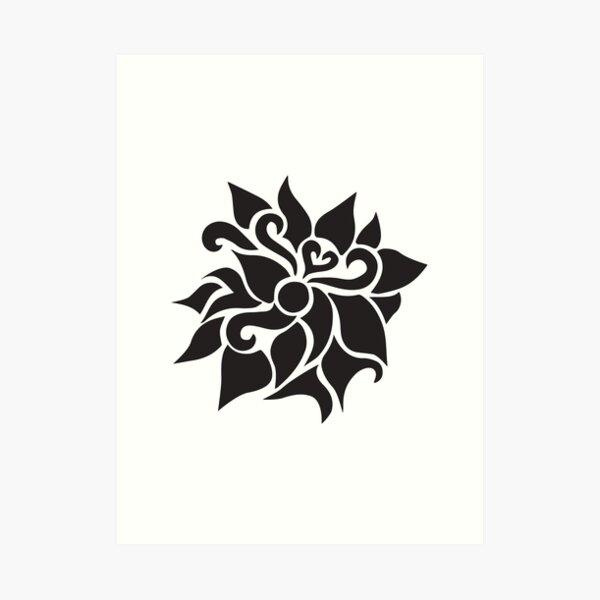 Flower Pattern 1  Art Print