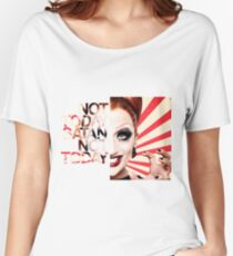 Not Today Satan - Bianca Del Rio Women's Relaxed Fit T-Shirt