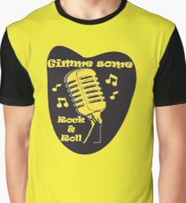 Gimme Some Rock&Roll! Graphic T-Shirt