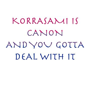 Korrasami Canon ~bisexual flag version by alexa33