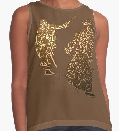 Be like a noble knight: wear a t-shirt Contrast Tank