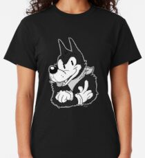 Tim the Old-Timey Wolf Classic T-Shirt