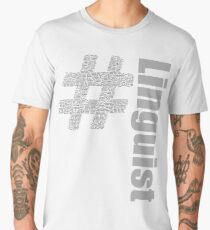 Linguist World Languages Men's Premium T-Shirt
