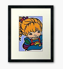 Rainbow Brite [ iPad / Phone cases / Prints / Clothing / Decor ] Framed Print