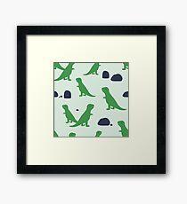 Dinosaurs never get old Framed Print